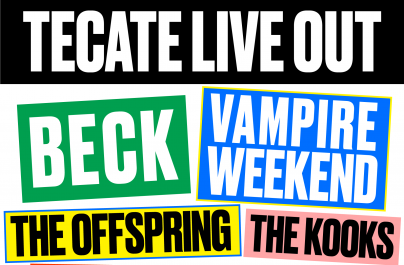 The Offspring, Beck y Vampire Weekend encabezan el Tecate Live Out