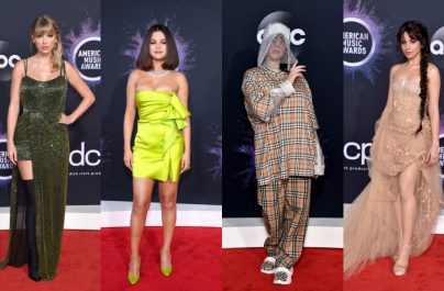 Taylor Swift, Billie Eilish, Selena Gómez y Camila Cabello arrasan en los American Music Awards